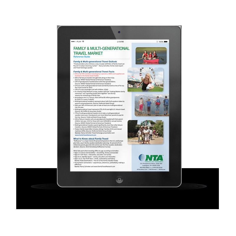 Family & Multi-Generational Travel Market | NTA | Article
