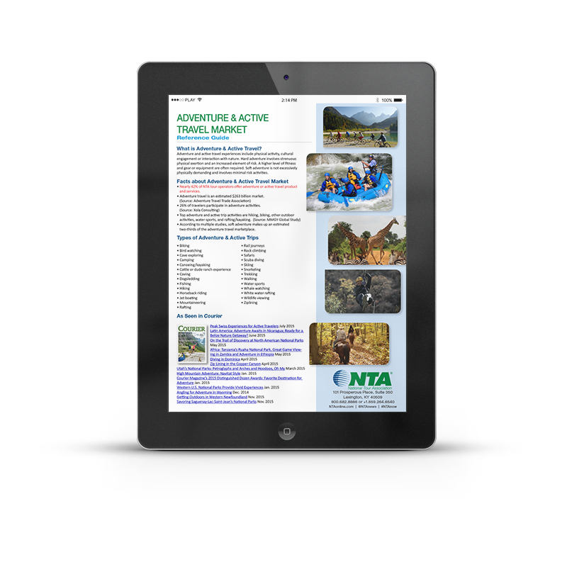 Adventure & Active Travel Market | NTA | Article