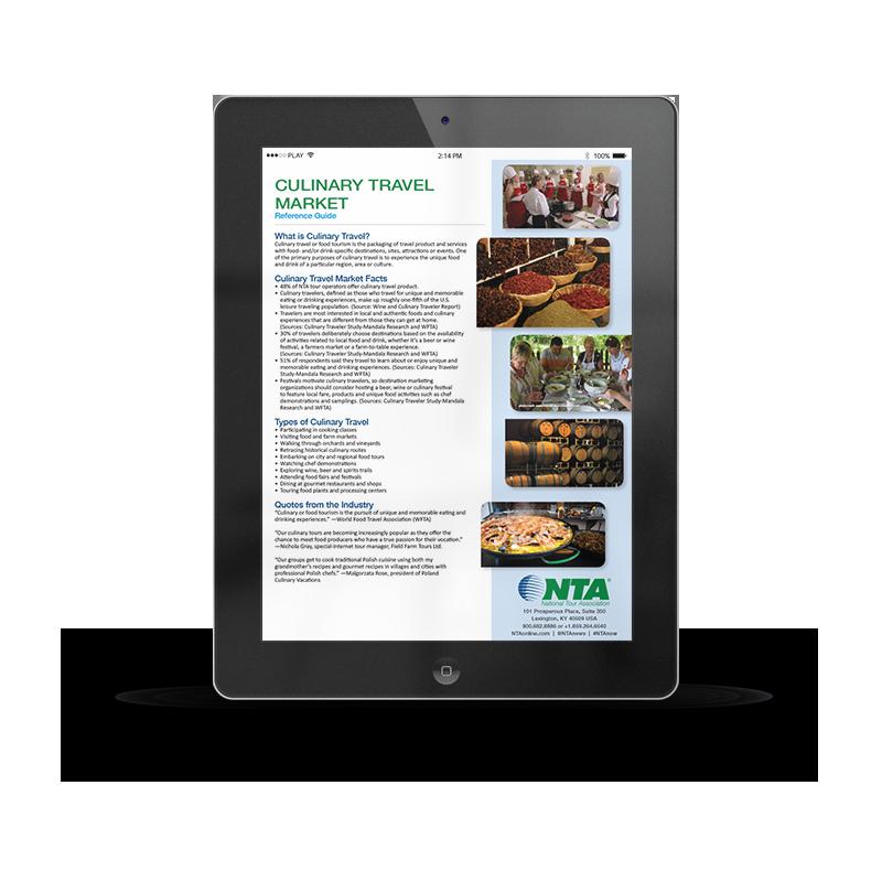 Culinary Travel Market Ipad   NTA   Article