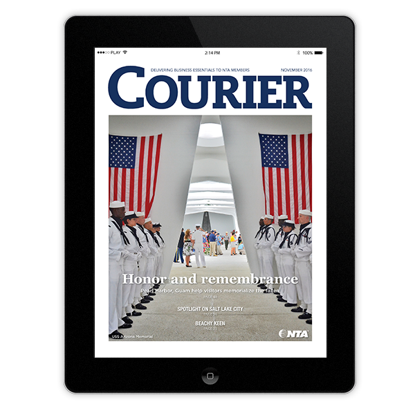 Nov. 2016 Courier on iPad