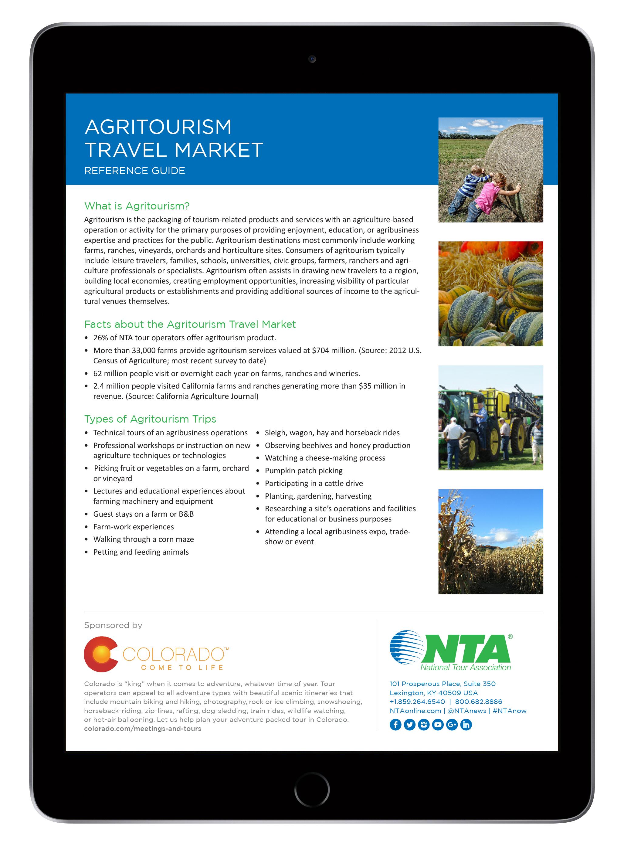 iPad-Agritourism