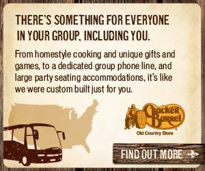 Cracker Barrel | Group Tour | Sponsor
