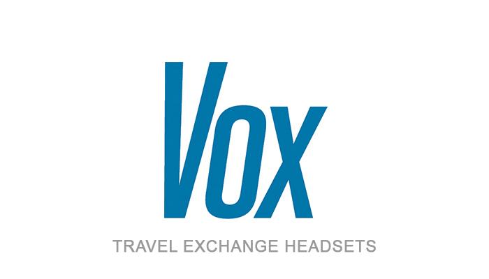 VOX Travel Exchange Headsets | Corporate Sponsor