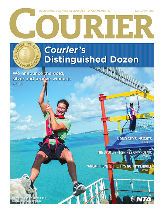 February Courier cover 2017